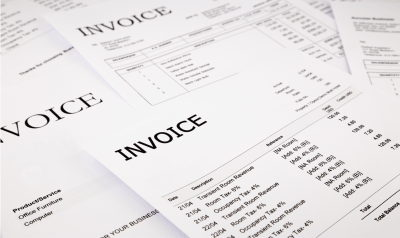Purchase Ledger Invoices for Scanning and Data Capture.
