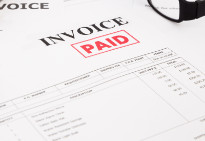 Process payment advice notes in accounts receivable department.