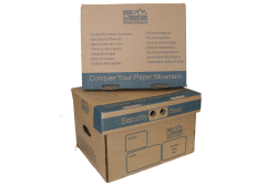 Our standard document archival boxes and document storage boxes are strong, durable, heavy duty paper storage boxes which are perfect for the long term archival of documents.