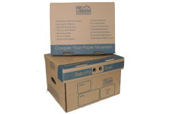 Standard archive document storage boxes for sale. Bankers boxes for storing paper long term.