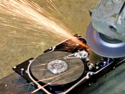 Hard Drive Destruction Service - Disk Shredding