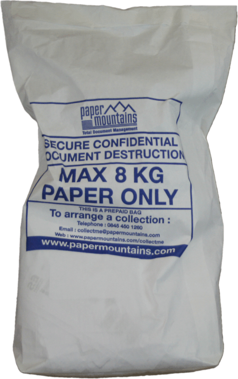 Avoid identity theft and fraud for small businesses and personal home users. Securely shred your bills, statements, invoices, medical records and protect your data using pre paid self seal bags, fixed cost.