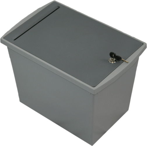 Executive Shredding Console - Locking Bin